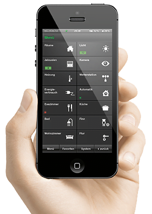 Smart Home Warendorf Smartphoneapp