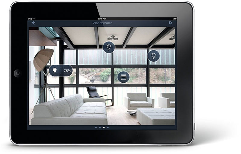 Smart Home Oelde Tablet